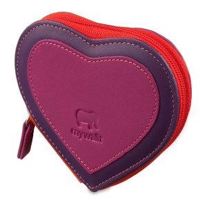 Mywalit Heart Purse Sangria Multi - 1