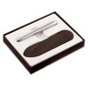 Chrome Fisher Space Pen Bullet with Slip Case Set - 1