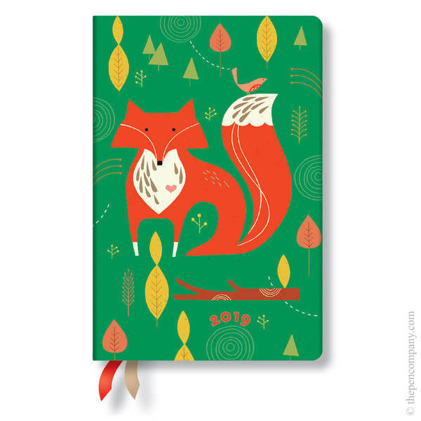 Mini Paperblanks Tracy Walker Animal Friends 2019 Diary