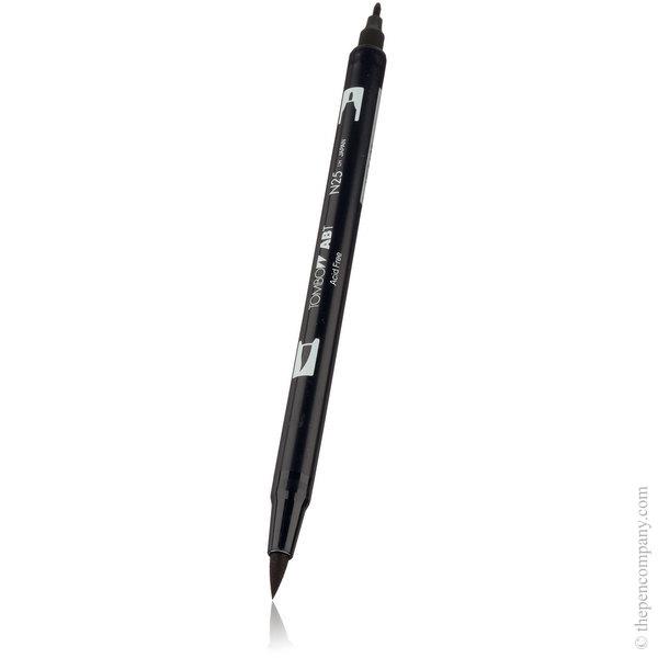 N25 Lamp Black Tombow ABT Brush Pen