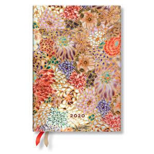 Midi Paperblanks Michiko 2020 Diary Kikka Day-to-View - 1