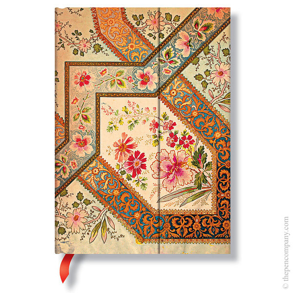 Midi Paperblanks Lyon Florals Journal Filigree Floral-Ivory Lined