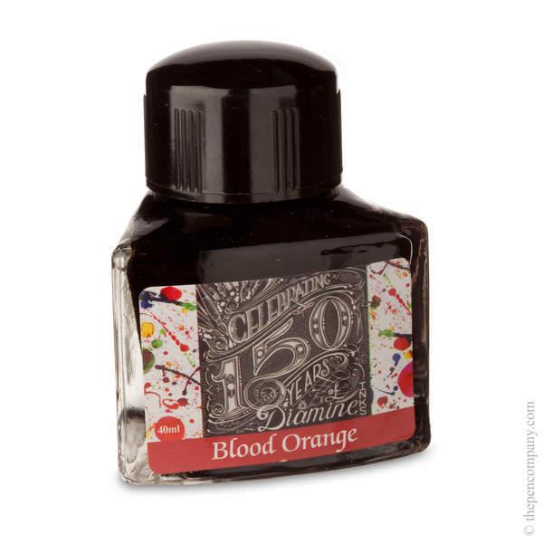 Blood Orange Diamine Bottled 150th Anniversary Ink