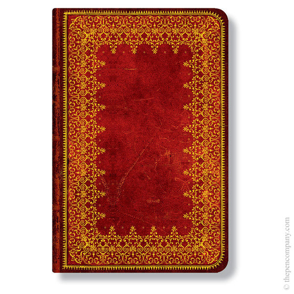 Mini Paperblanks Old Leather Address Book Foiled