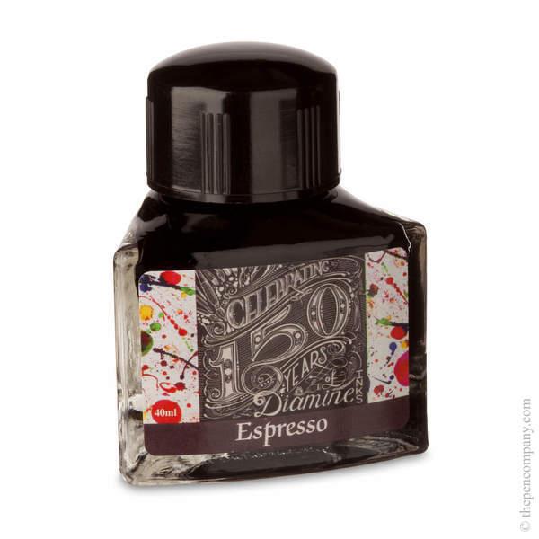 Espresso Diamine Bottled 150th Anniversary Ink