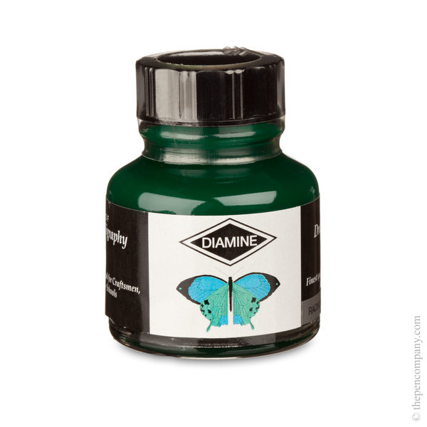 Racing Green Diamine Bottled Drawing & Calligraphy Ink