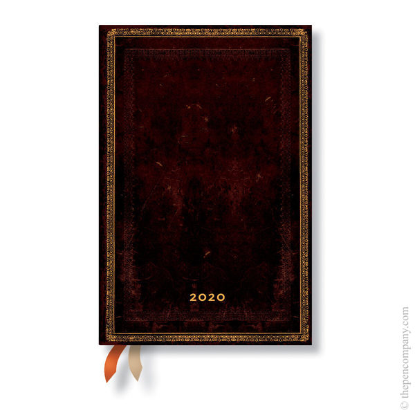 Mini Paperblanks Old Leather 2020 Diary