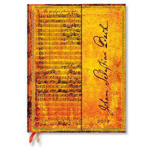 Ultra Paperblanks Embellished Manuscripts 2019 Diary Bach, Cantata Day-to-View - 1