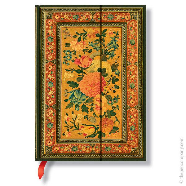 Midi Paperblanks Rose Garden Journal Glowing Rose Lined