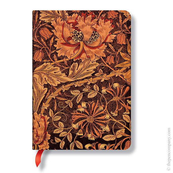 Midi Paperblanks William Morris Journal Honeysuckle Lined