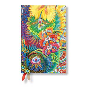 Mini Paperblanks Olenas Garden Flexi 2020 Diary Dayspring Horizontal Week-to-View - 1