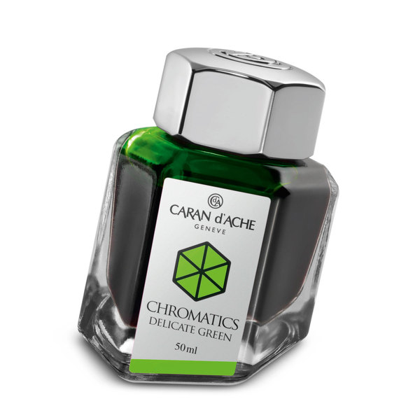 Delicate Green Caran d Ache Bottled Chromatics