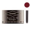Diamine Oxblood Fountian Pen Cartridges 18 Pack - 1