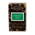 Woodland Green Diamine Fountain Pen Ink Cartridges - 4