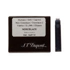 Black Dupont fountain pen cartridges - 1