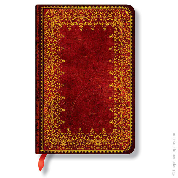Mini Paperblanks Old Leather Journal Foiled Lined