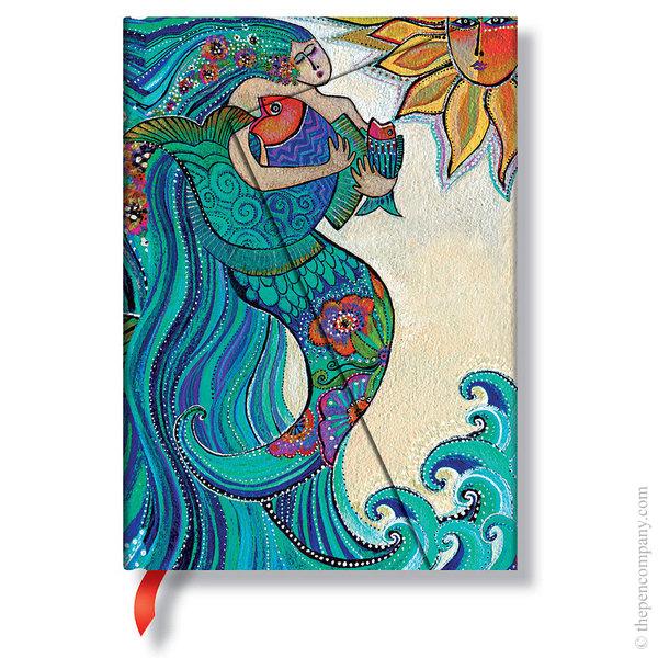 Midi Paperblanks Laurel Burch - Whimsical Creations Journal Ocean Song Lined