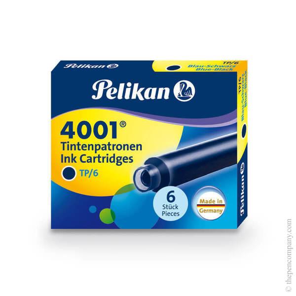 Blue-Black Pelikan 4001 Fountain Pen Cartridges Ink Cartridges