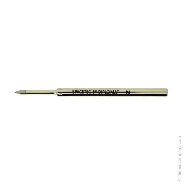 Black Diplomat SpaceTec Ball Pen Refill Medium