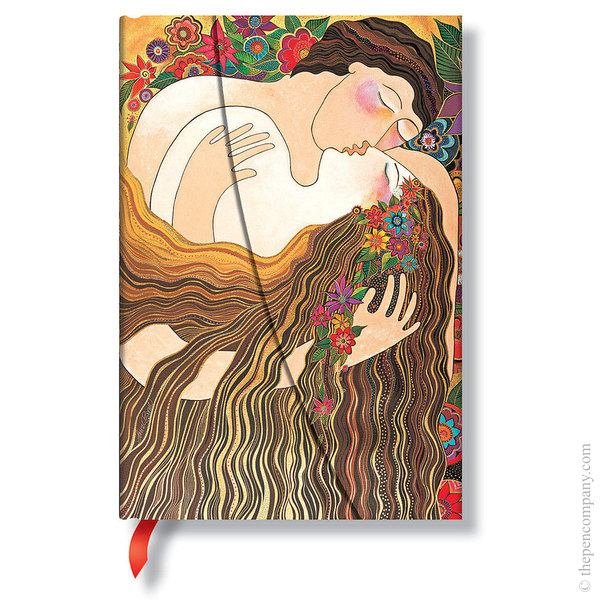 Mini Paperblanks Laurel Burch - The Lovers Journal The First Kiss Lined