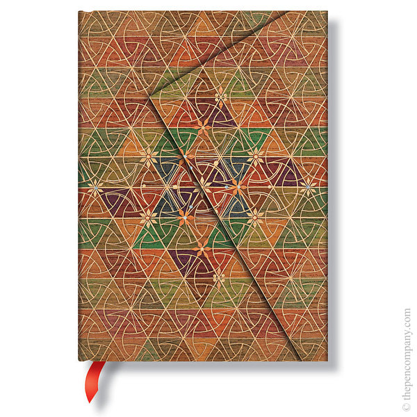 Midi Paperblanks Kirikane Journal Metta Lined