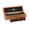Jack Row Silver and Black Sapphire City fountain pen - 7