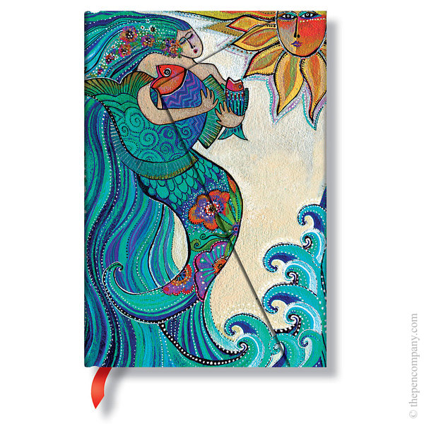Mini Paperblanks Laurel Burch - Whimsical Creations Journal Ocean Song Lined