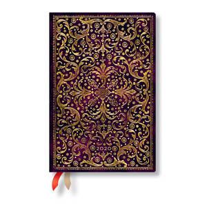 Mini Paperblanks Aurelia 2020 Diary Horizontal Week-to-View - 1