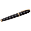 Black Lacquer Gold Diplomat Excellence A2 Fountain Pen - 3