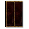 Mini Paperblanks Old Leather Black Moroccan Address Book - 1