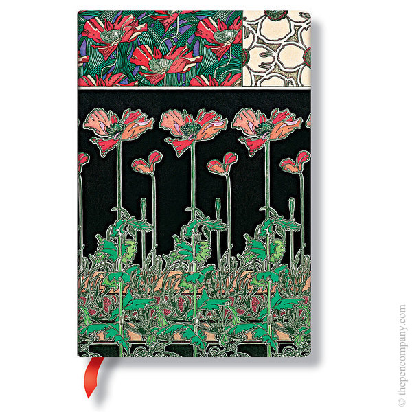 Midi Paperblanks Mucha Journal Papaver Lined
