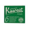 Palm Green Kaweco Fountain Pen Cartridges - 1