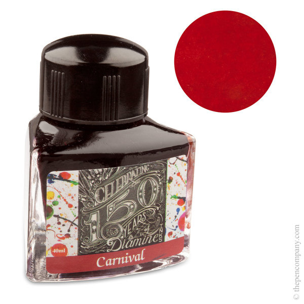 Carnival Diamine Bottled 150th Anniversary Ink