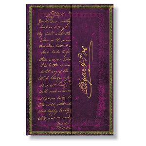 Mini Paperblanks Embellished Manuscripts Poe, Tamerlane Address Book - 1