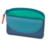 Mywalit Coin Purse with Flap Aqua - 1