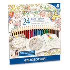 Pack of 24 Staedtler Noris Colouring Pencils - 1