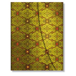 Ultra Paperblanks French Ornate Vert Address Book - 1
