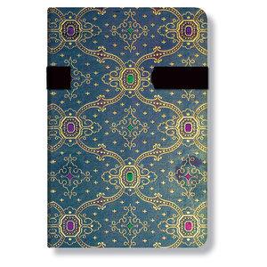 Mini Paperblanks French Ornate Bleu Address Book - 1