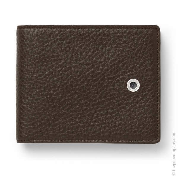 Dark Brown Graf von Faber-Castell Cashmere Leather Wallet