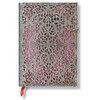 Lined Midi Paperblanks Blush Pink Silver Filigree Journal - 1