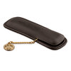 Black Kaweco Leather Pouch with Coin Pen Case for Two Pens - 2