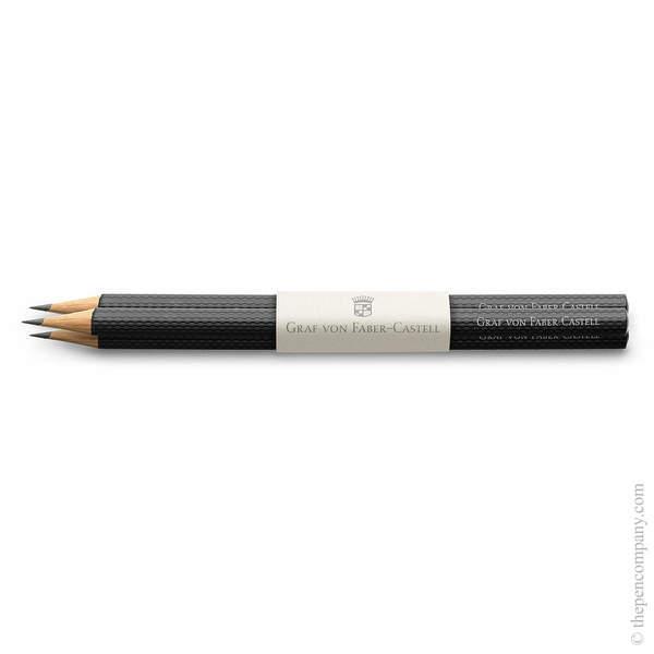 Black Graf von Faber-Castell Guilloche Pencils Graphite Pencil