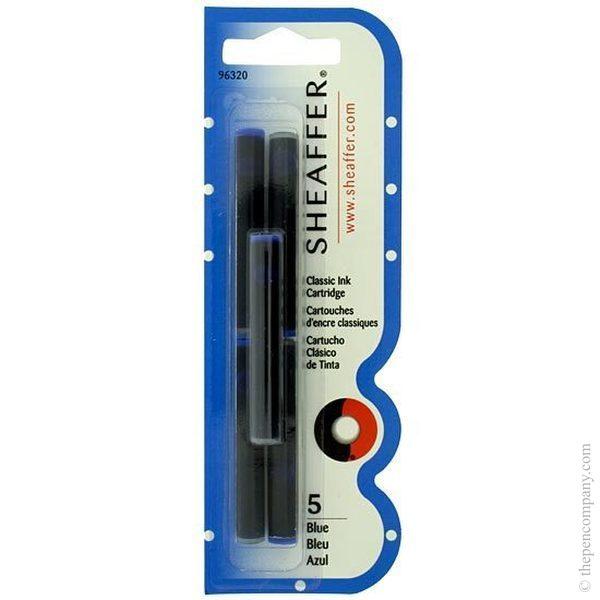Blue Sheaffer Skrip Classic Cartridges Ink Cartridges