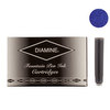 Diamine WES Imperial Blue Fountian Pen Cartridges 18 Pack - 1