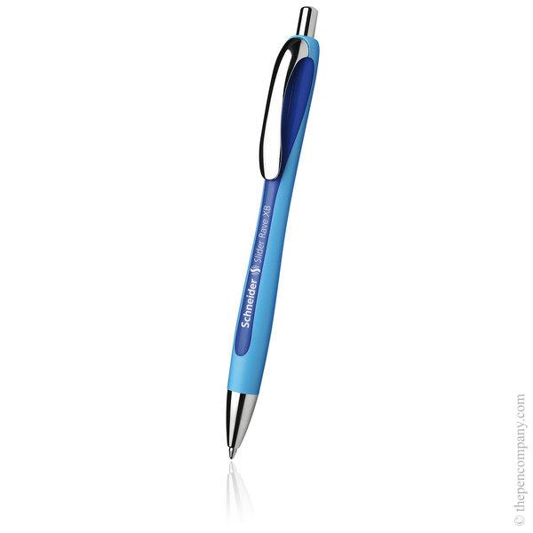 Blue Blue Schneider Slider Rave Ballpoint Pen Extra Broad