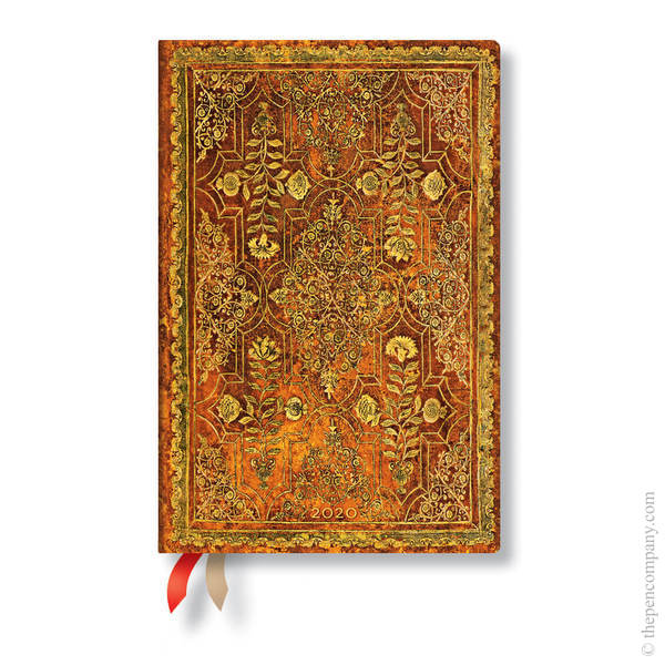 Mini Paperblanks Fall Filigree 2020 Diary