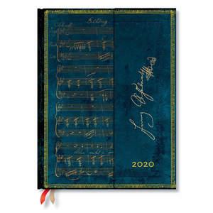 Ultra Paperblanks Embellished Manuscripts 2020 Diary Schubert, Erlkönig Horizontal Week-to-View - 1