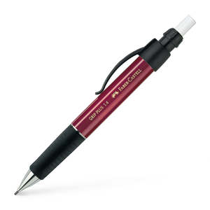Metallic Red Faber-Castell Grip Plus Mechanical Pencil 1.4mm - 1