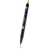 Tombow ABT brush pen 076 Green Ochre - 2