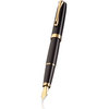Black Lacquer Gold Diplomat Excellence A2 Fountain Pen - 1
